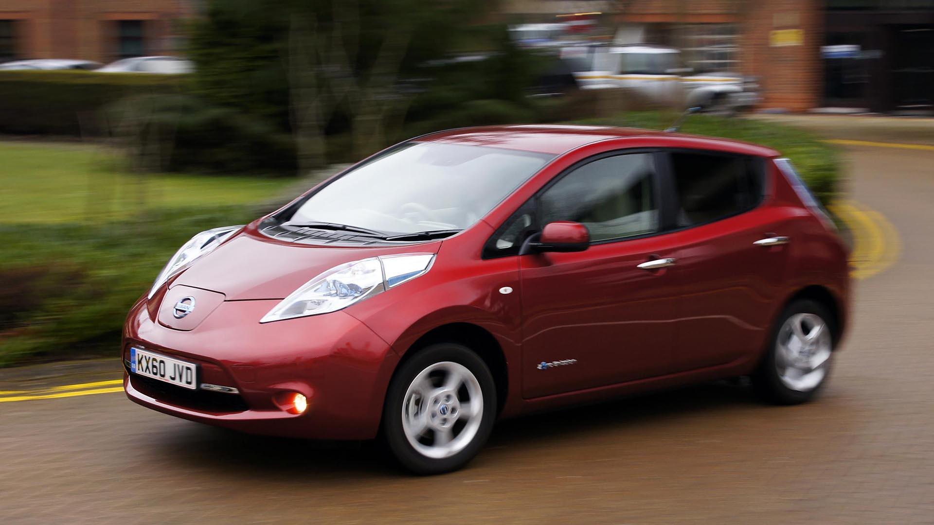 Nissan Leaf used electric car
