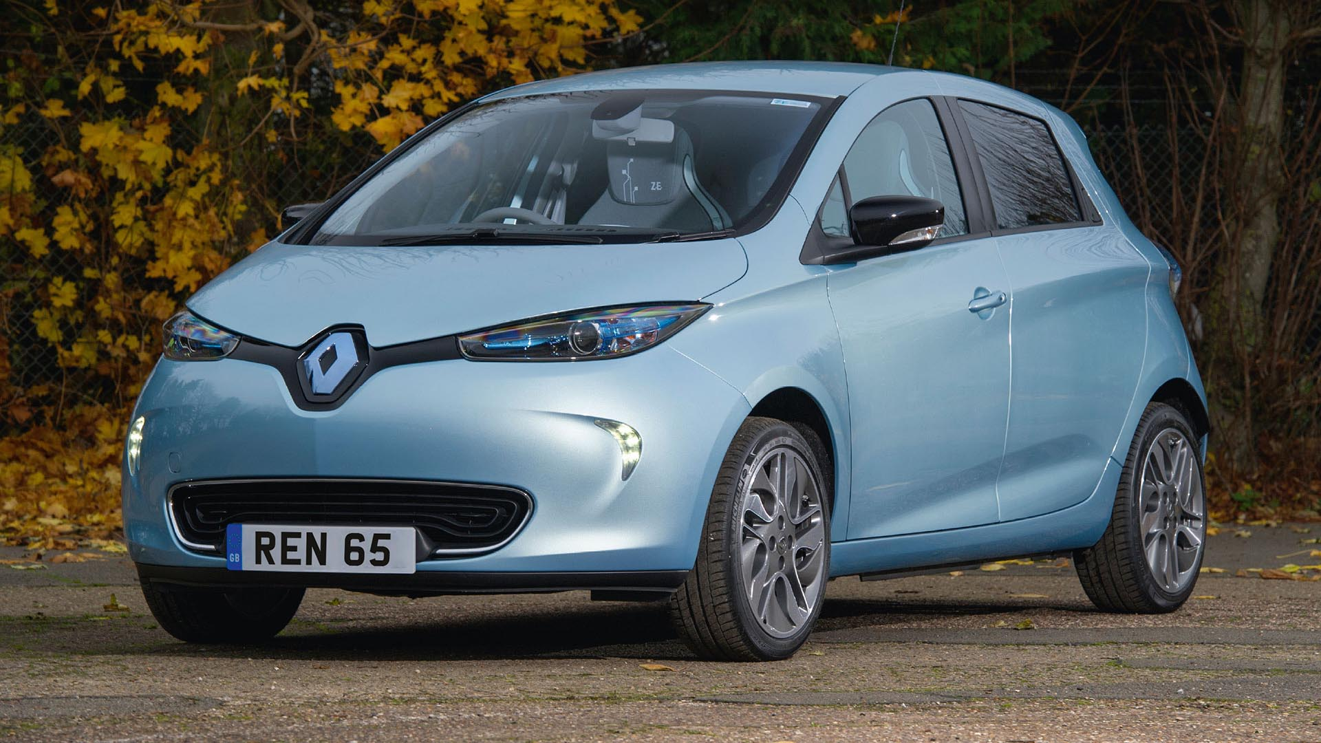 Renault Zoe used electric car