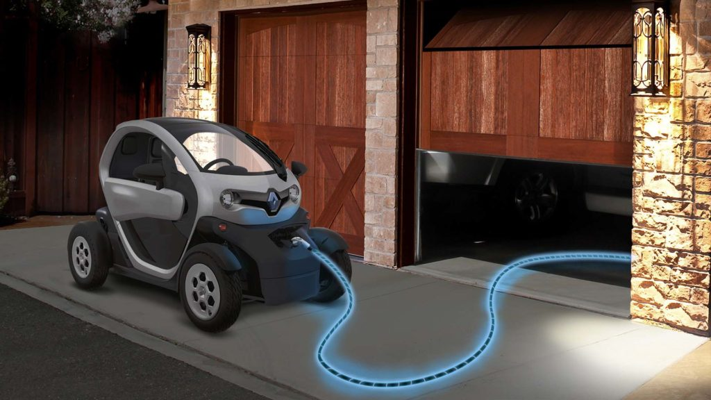 Renault Twizy charging