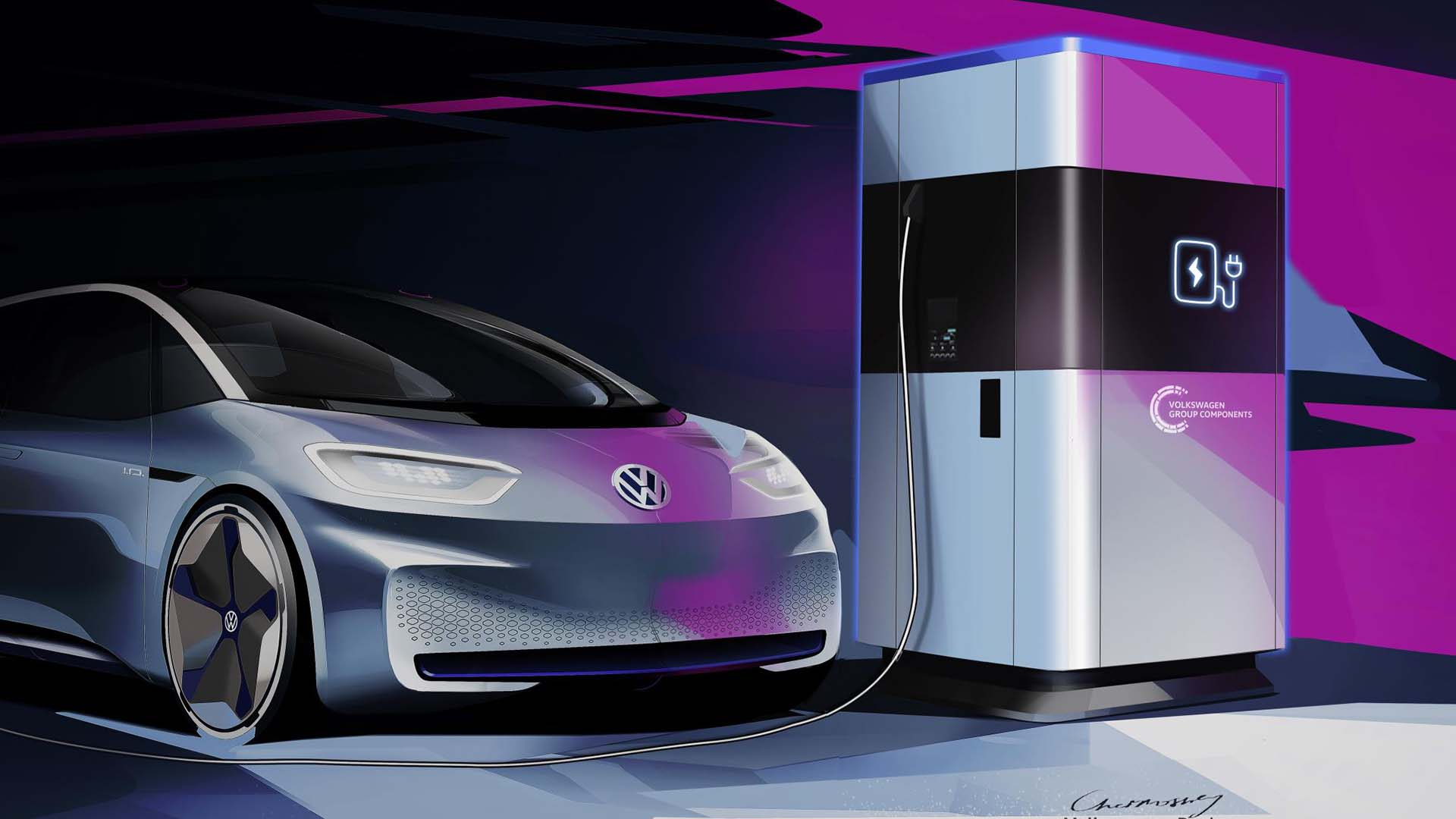 Volkswagen mobile charging