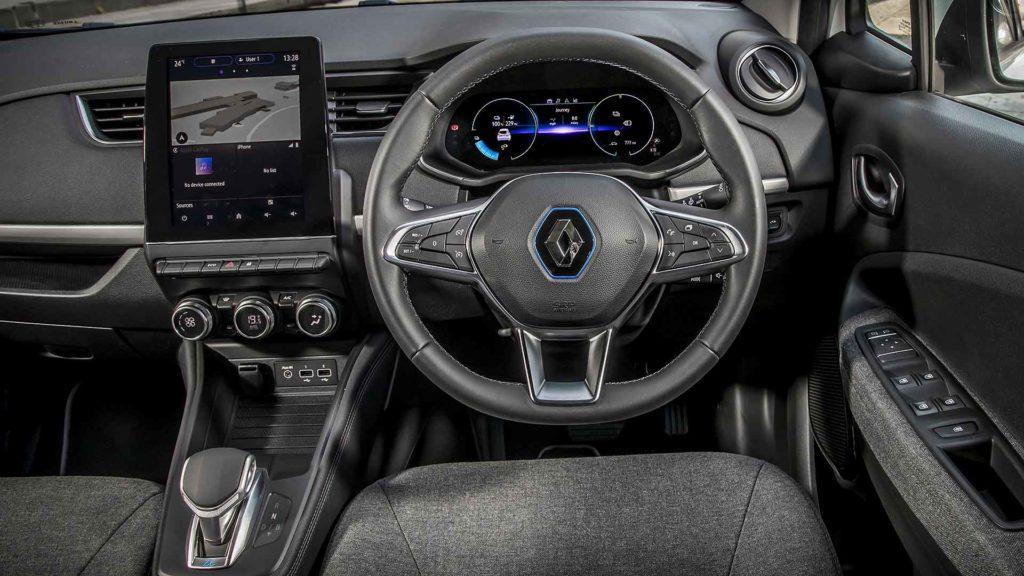 Renault Zoe Van dashboard