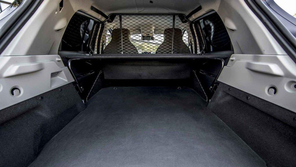 Renault Zoe Van load area