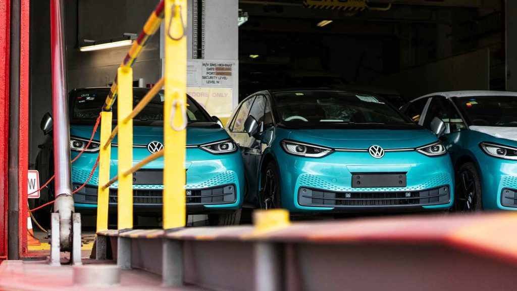 Volkswagen ID.3 arrives in the UK